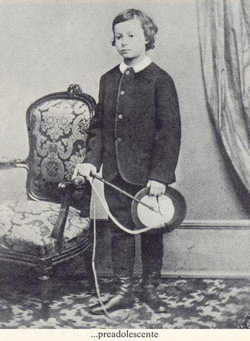 Young Prince Augusto Czartoryski.