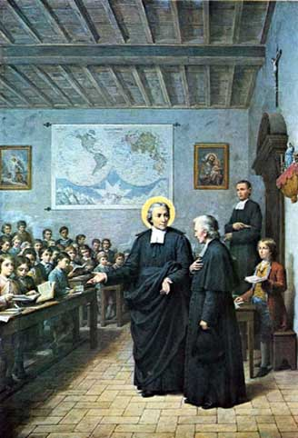 St. John Baptist teaching