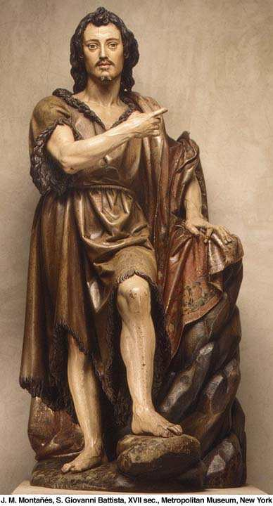 Statue of St. John the Baptist