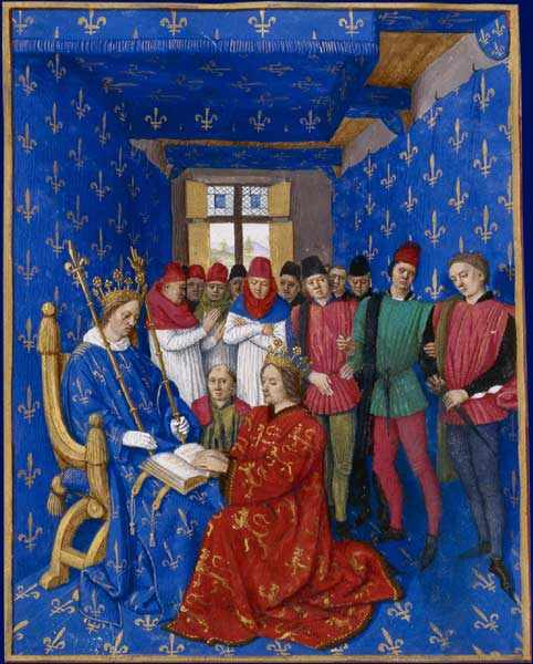 Painting by Jean Fouquet