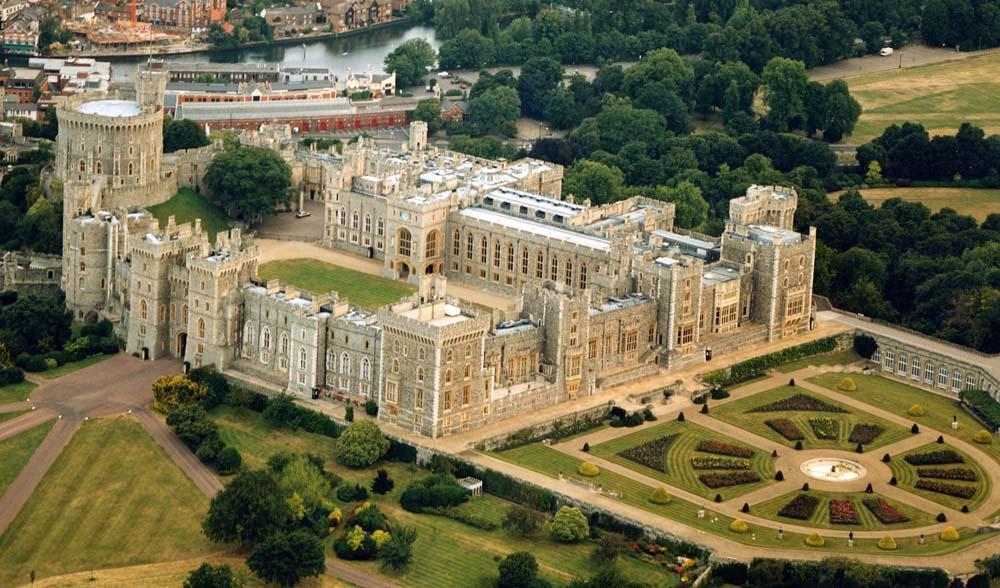 Aerial Photo of Windsor Castle