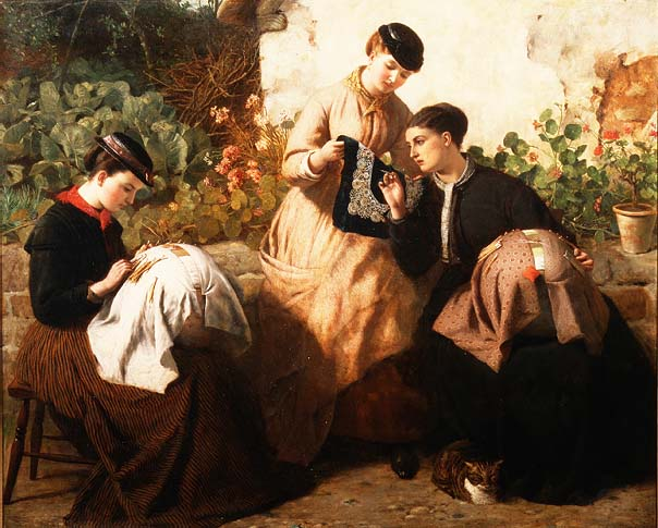 Painting by Frederick Richard Pickersgill
