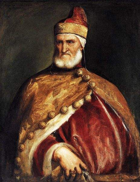 Portrait of the Venetian Magistrate, Doge Andrea Gritti by Titian.