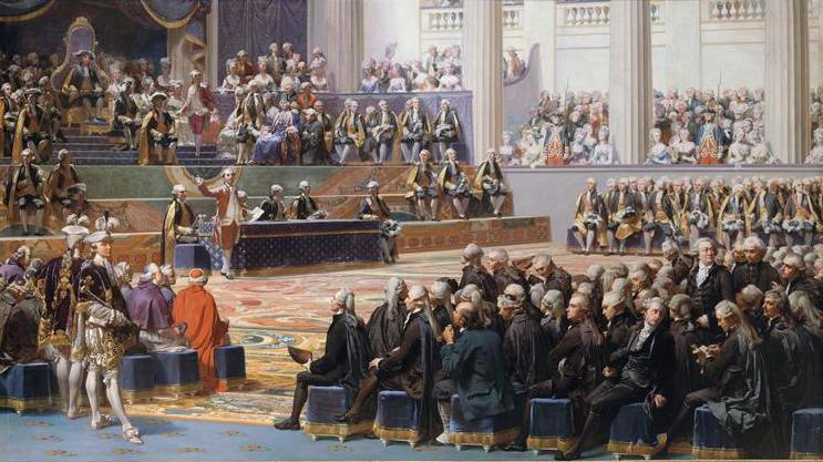 Another view of the Opening of the Estates General, May 5, 1789.