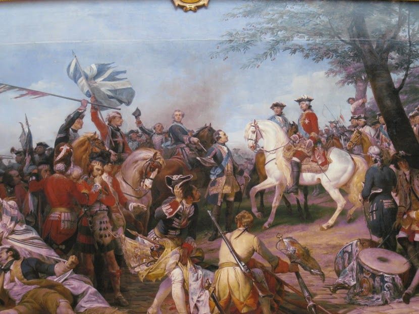 The Battle of Fontenoy, 11th May 1745, painted by Horace Vernet.