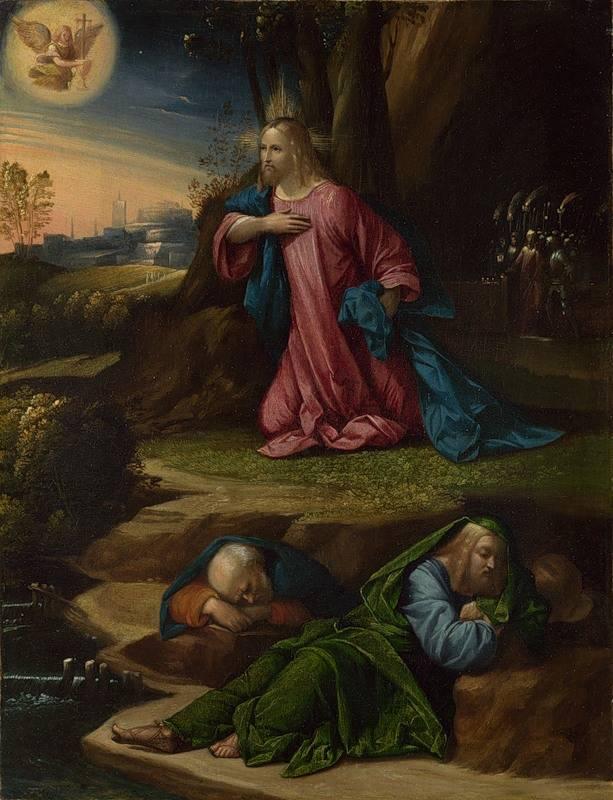 The Agony in the Garden by Garofalo.