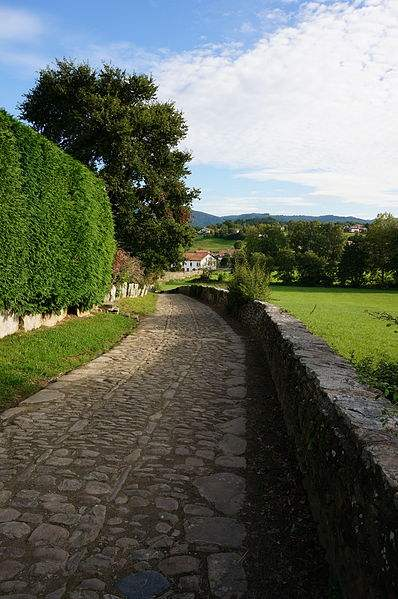 Sare is a village in the Basque province of Labourd. Photo by Harrieta171.