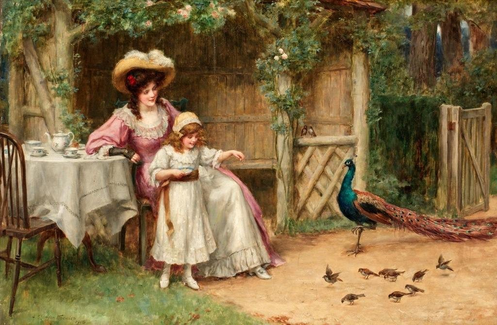 Painting by George Sheridan Knowles