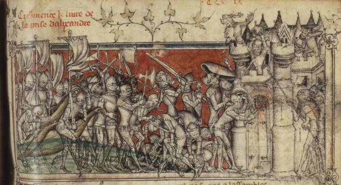 Alexandrian Crusade, October 1365 and was led by Peter I of Cyprus against Alexandria.