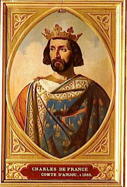 Charles de France, comte d'Anjou, brother of King St. Louis IX of France.