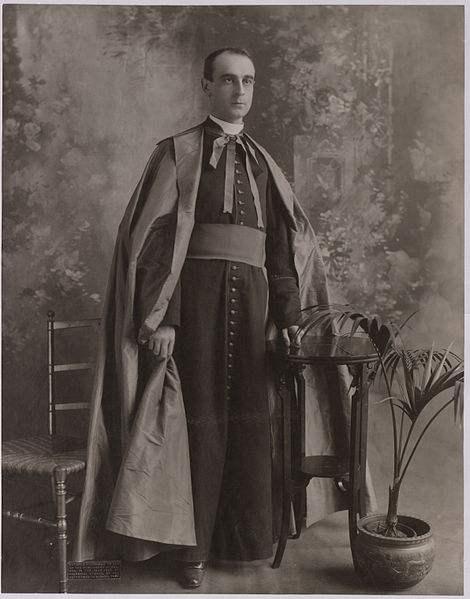 His Excellency, Rafael Cardinal Merry del Val y Zulueta in 1897.