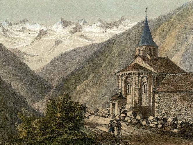Valley of d'Astau by Charles Mercereau