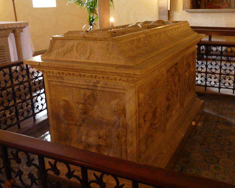 The Tomb of St. Colomban