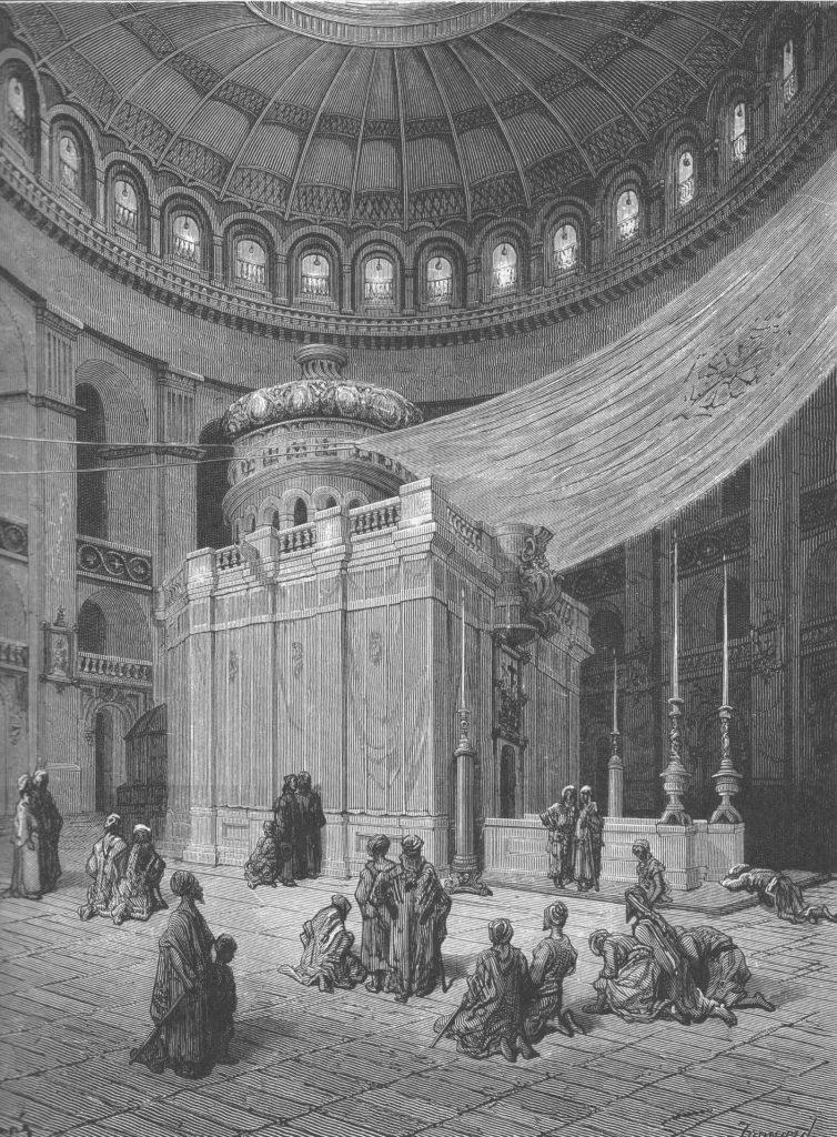 Jerusalem: the Holy Sepulcher by Gustave Doré.