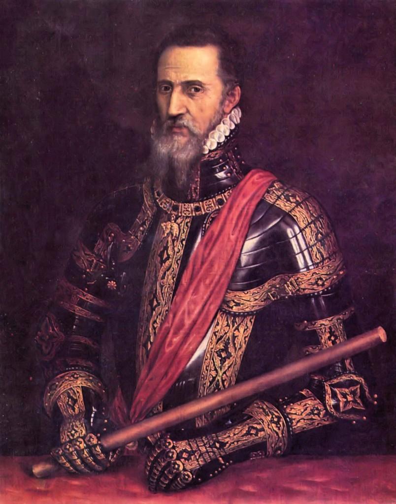 Don Fernando Álvarez de Toledo, III Duke de Alba Painted by Titian