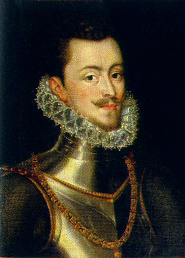 Don Juan of Austria, the supreme commander of the Holy League against the Turks at the Battle of Lepanto. Painting by Sánchez Coello , Alonso