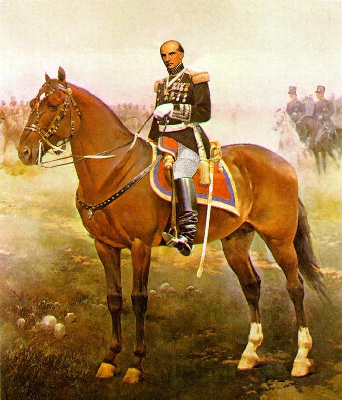 Gabriel García Moreno, two term President of Ecuador who was murdered in 1876.