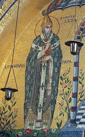 Pope Leo raised what forces he could among the Italian princes and declared war on the Normans