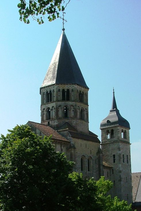 One of the few remaining original structures of Cluny that survived the French Revolution