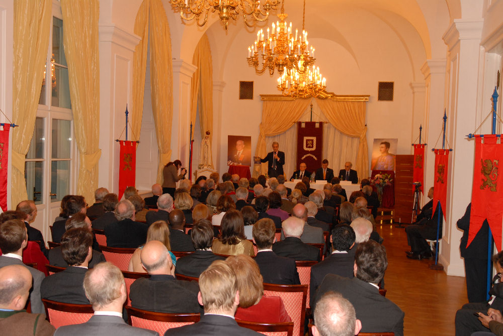 Nobility Book Launching in Vienna, Austria, November 2008.