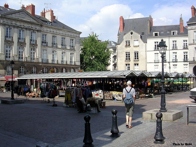 The square where the executions took place, La Bouffay.