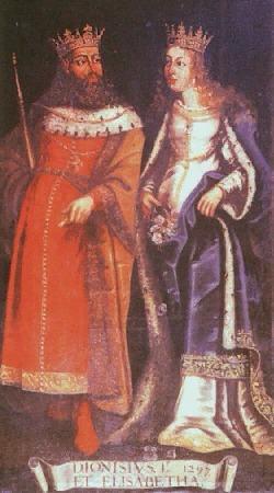 Dionysius, king of Portugal and St. Elizabeth