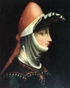 Portrait of Matilde of Tuscany, Margravine of Tuscany.