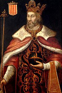 (Peter) Pedro III of Aragon, painted by Filippo Ariosto