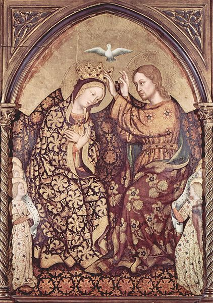 Coronation of Our Lady by Gentile da Fabriano