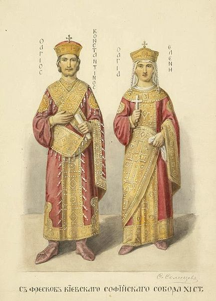 Constantine the Great and St. Helena