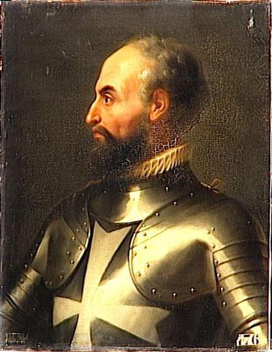 The Grand Master Jean de La Valette.