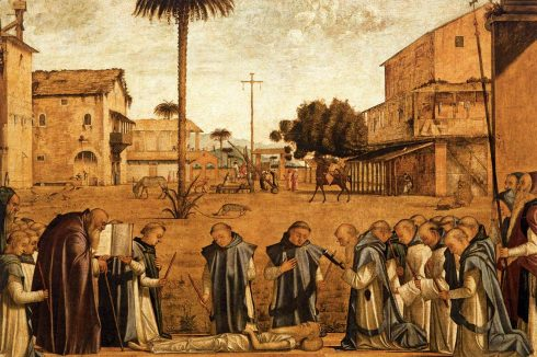 Funeral of St Jerome by Vittore Carpaccio
