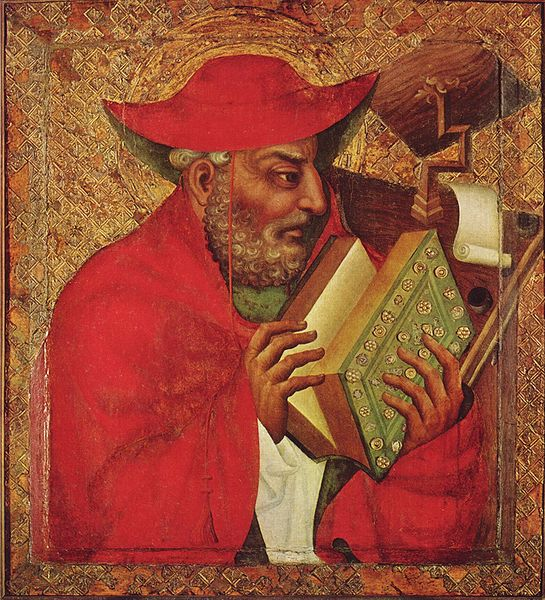 Painting of St. Jerome by Meister Theoderich von Prag