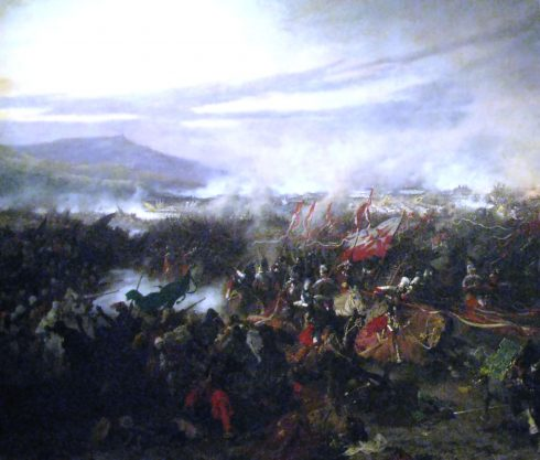 Battle of Vienna (1683) by Józef Brandt