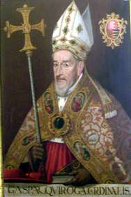 Cardinal Gaspar de Quiroga y Vela