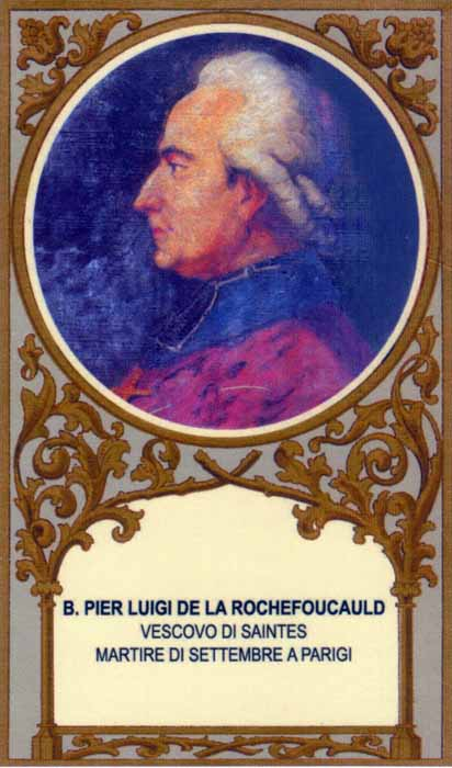 Bl. Pierre-Louis de la Rochefoucauld-Bayers, Bishop of Saintes