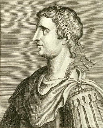 Flavius Gratianus Augustus, known as Gratian, was a Western Roman Emperor from 375 to 383.