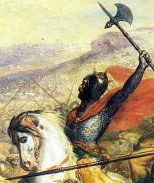 Charles Martel in Battle