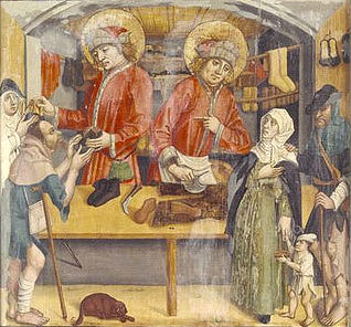 From the Chapelle Saint-François de Paule in Fribourg. Swiss National Museum, Zurich