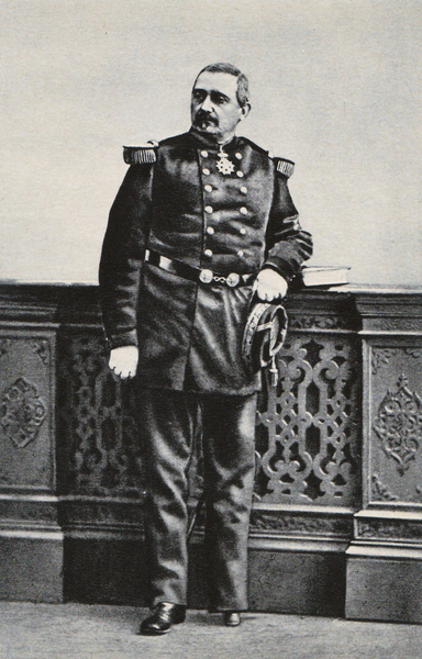 Portrait of French General Louis-Gaston de Sonis (1825-1887), who lost his leg during this war.