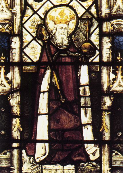 St. Ethelbert, King of Kent & second brother of St. Albert