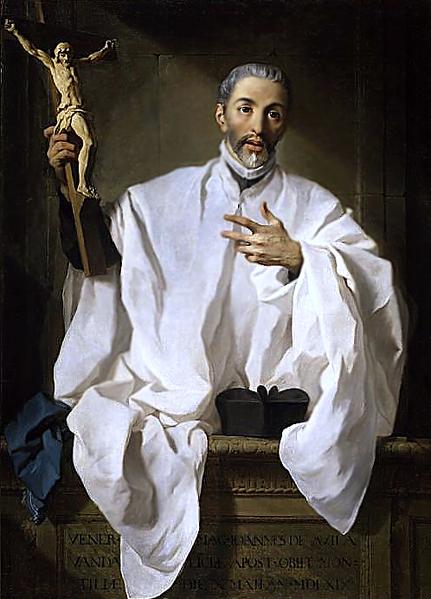 Painting of St. John of Avila by Pierre Hubert Subleyras