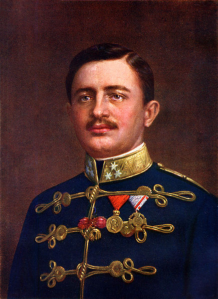 Crown Prince Carl Franz Joseph of Austria
