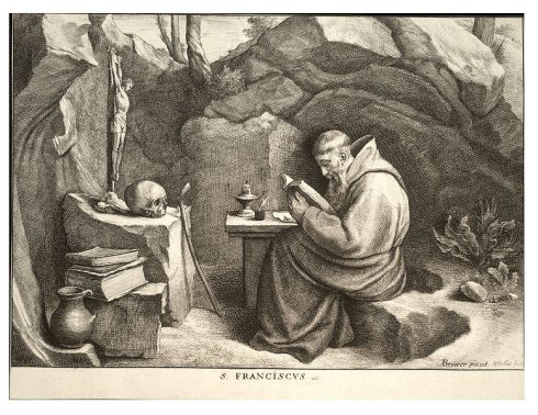 St. Francis by Wenzel Hollar
