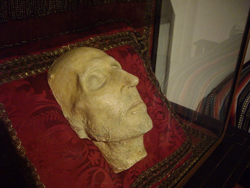 Death mask of St. Francis Borgia