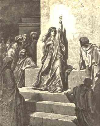Deborah the Prophetess' by Gustave Doré