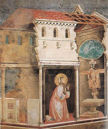 """""""Go, Francis, and repair my house, which as you see is falling into ruin."""""""