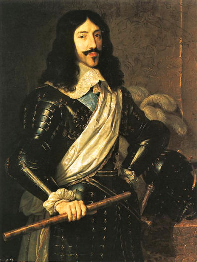 Portrait of Louis XIII by Philippe de Champaigne