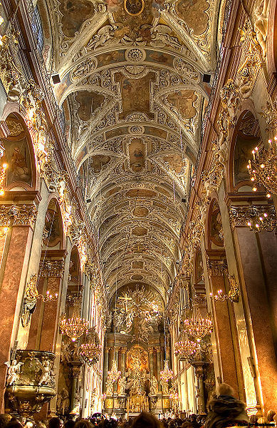 Interior of the Basilica of Jasna Góra