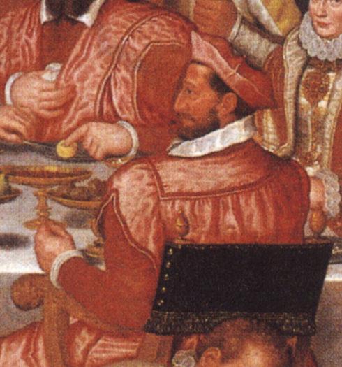 Painting of St. Charles Borromeo by Anthony Bays